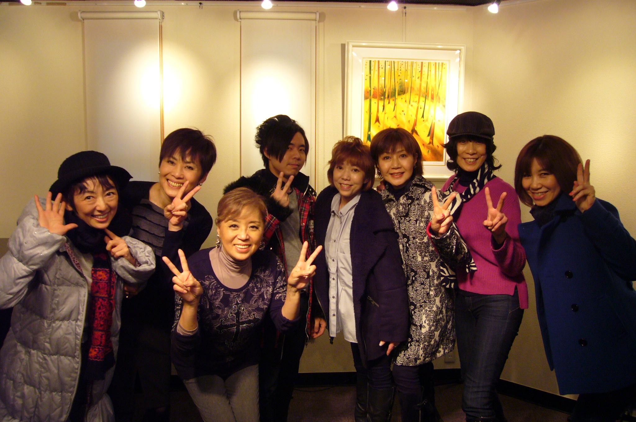 久しぶりに宝塚OG7名+1名集合 | Wind Music Company – スタジオ ...